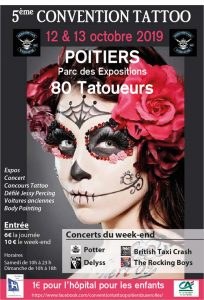 Convention Tattoo Medieval Poitiers