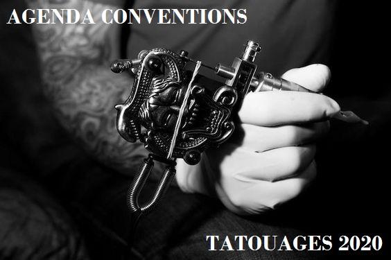 agenda conventions tatouages 2020